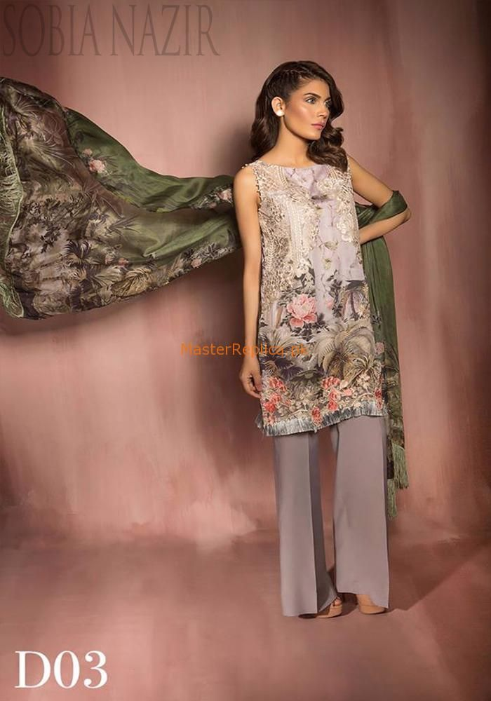 67ae6ca81c Check Out Sobia Nazir Luxury Linen Collection 2017 Replica at Master Replica  Pakistan Call/WhatsApp: +923322622227 #pakiclothing #pakistanidesignerwear  ...