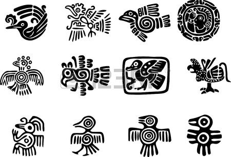 Motivos Mexicana O Maya Bordado Pinterest Maya Symbols And