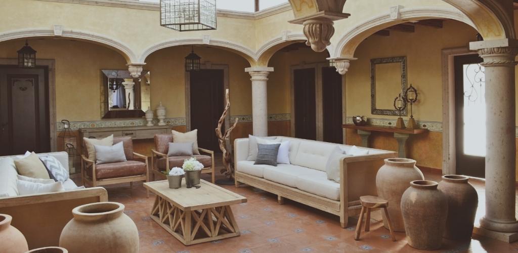 Interiorismo terraza y jardin pinterest casas casas - Interiorismo de casas ...