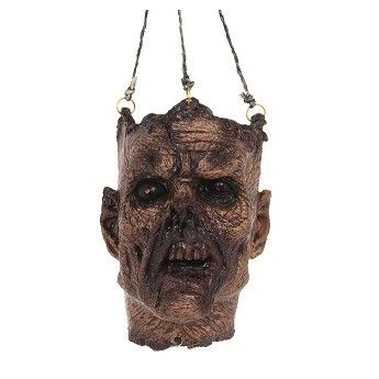Decomposed Hanging Head With Sound