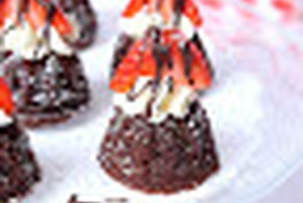 Schoko - Mini - Gugelhupfe
