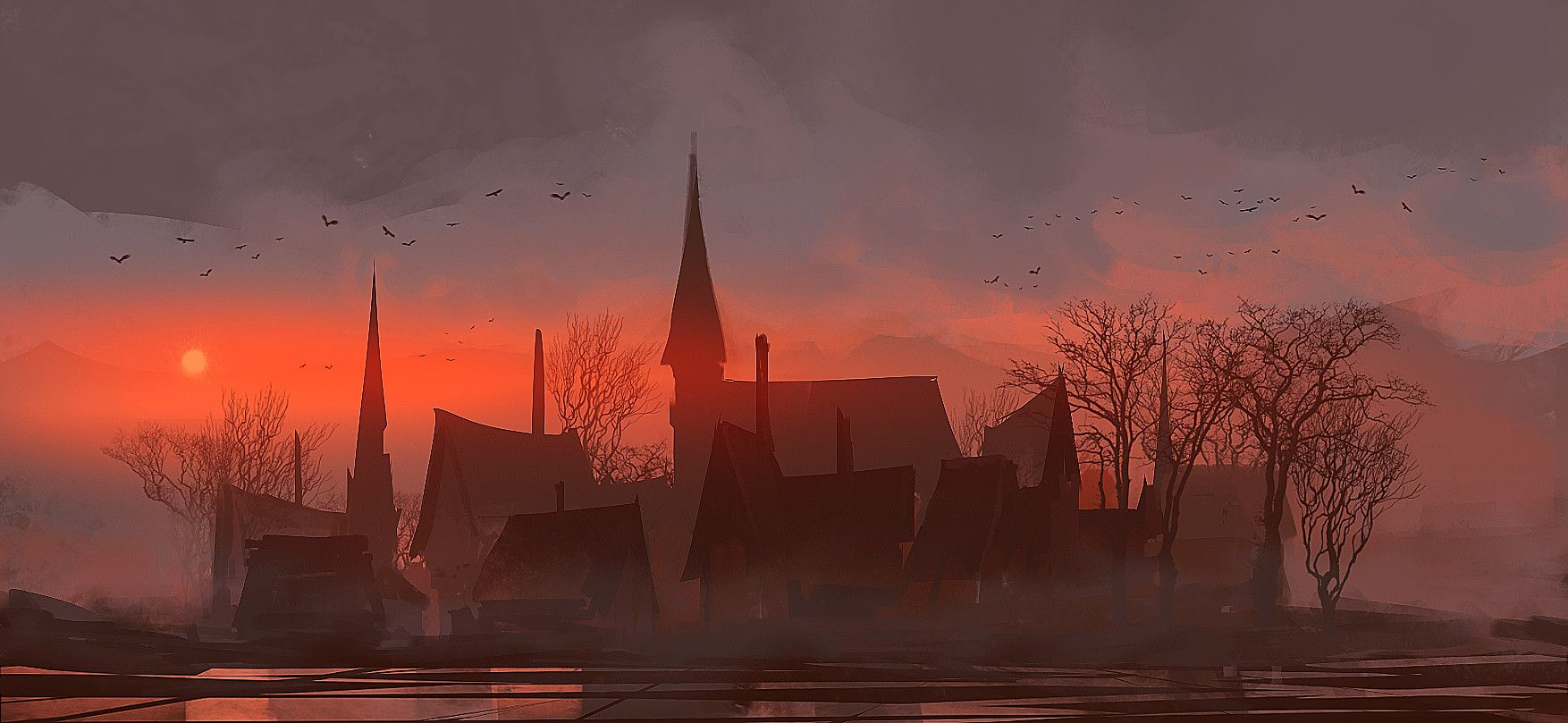 FEATURED ARTIST: romain flamand. Love this #speedpaint #digitalart