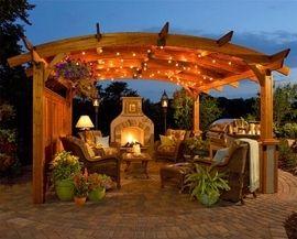 Sonoma pergola I really love  #home-garden