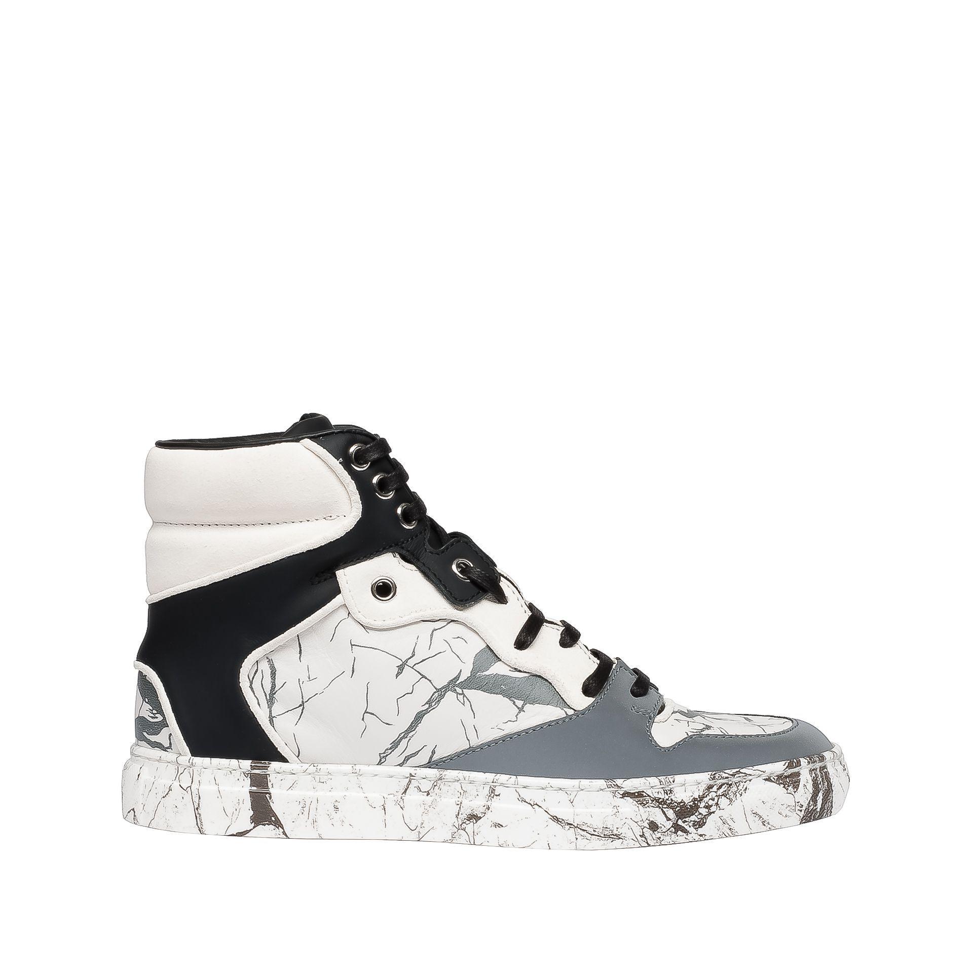 Balenciaga Sneakers Marble Effect Balenciaga - Sneakers Women - Shoes  Balenciaga e6f4c35156f2