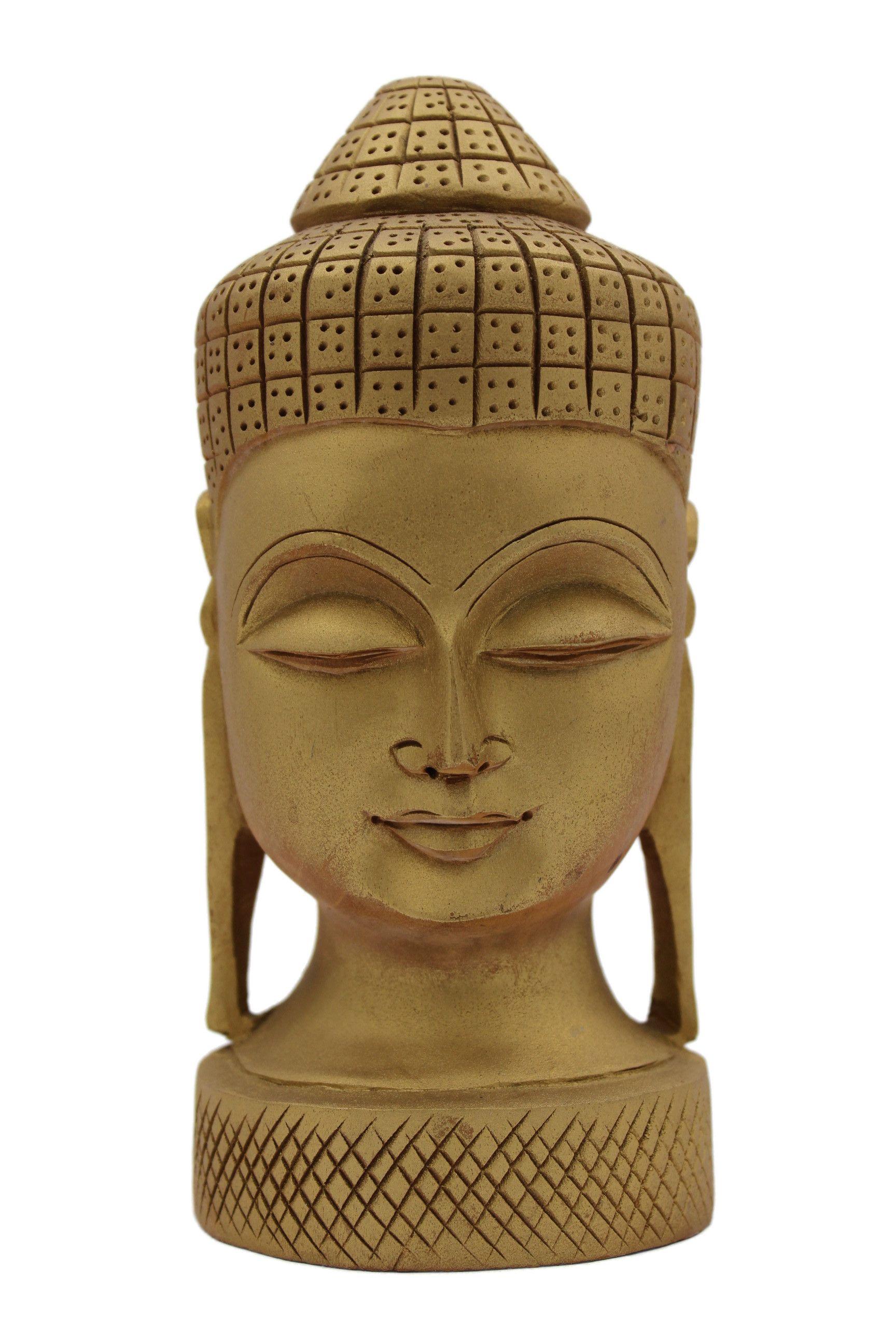 Statue Bouddha Bois N289
