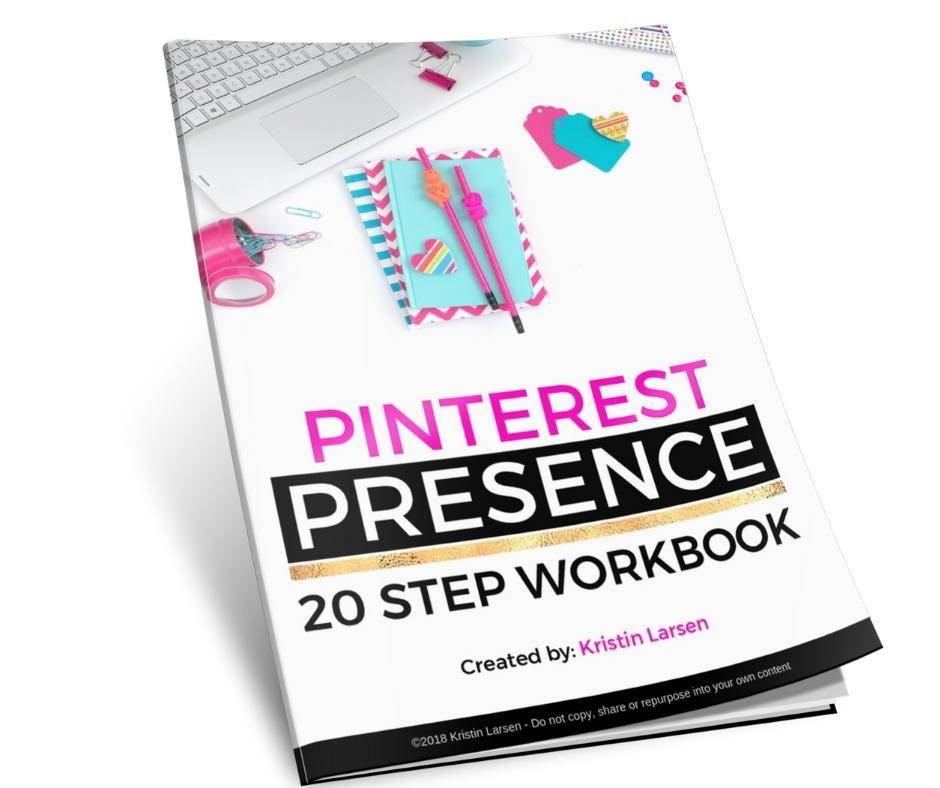 Pinterest Presence 20 Step Workbook Workbook, Budgeting