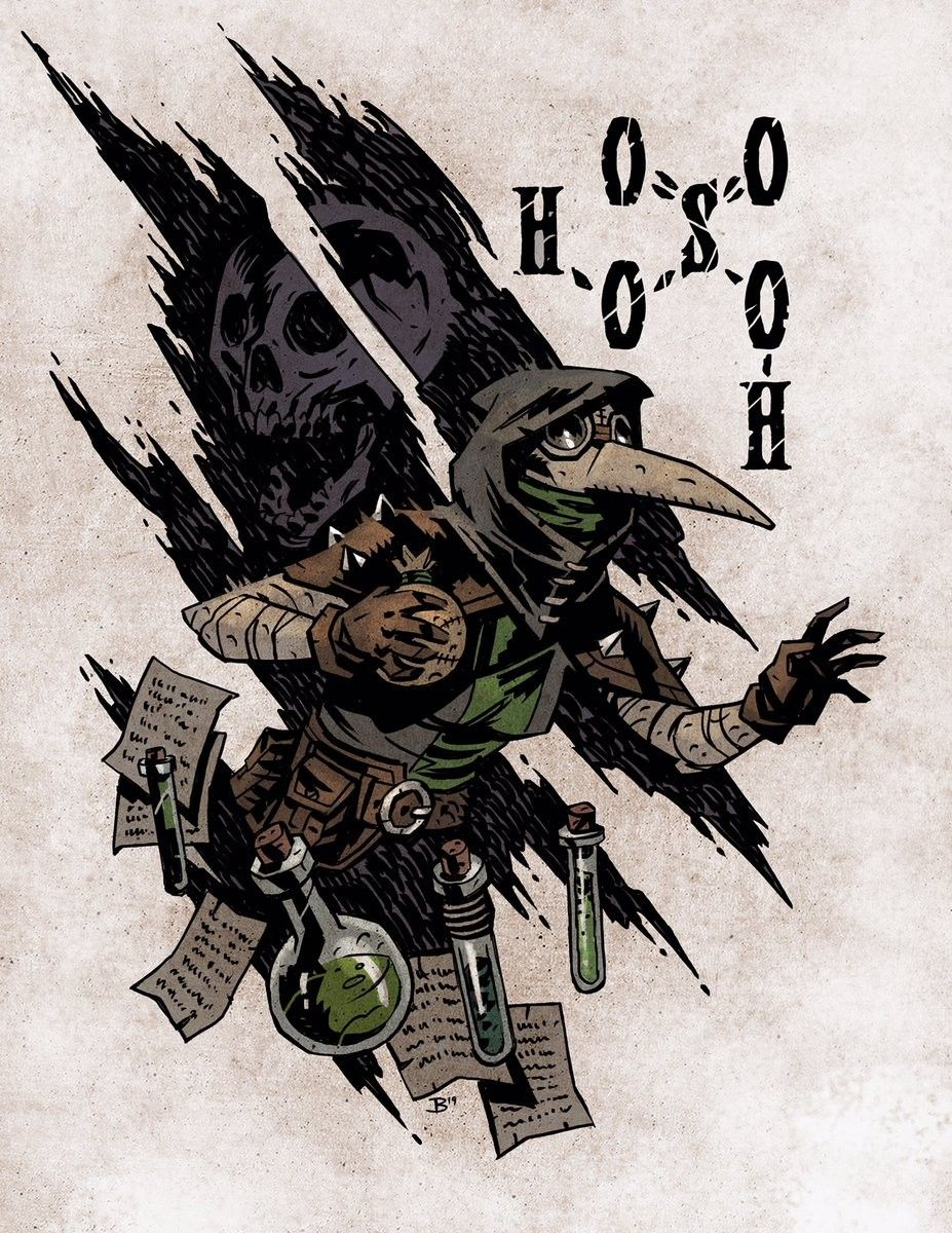 Pin by CMYKAL on CC Plague Doctor Darkest dungeon