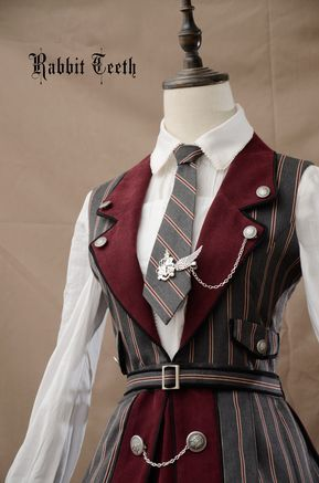 Fantastic Wind -The Tower of Ivory- College School Style Lolita JSK #schoolstyle