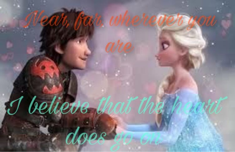 #myheartwillgoon #elsa #hiccup #titanic #hiccelsa