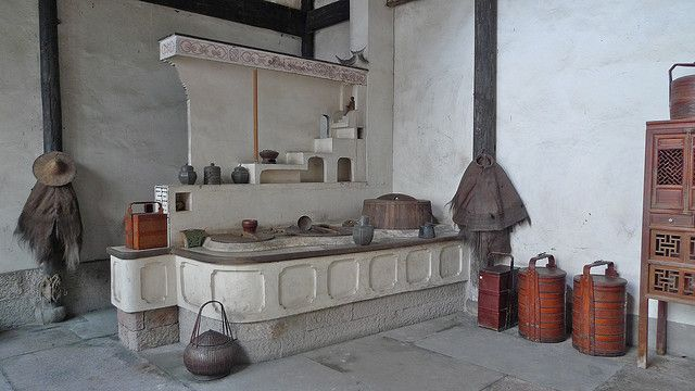 Traditional Chinese Kitchen Traditional Chinese House Chinese Style Interior Traditional Kitchen Design