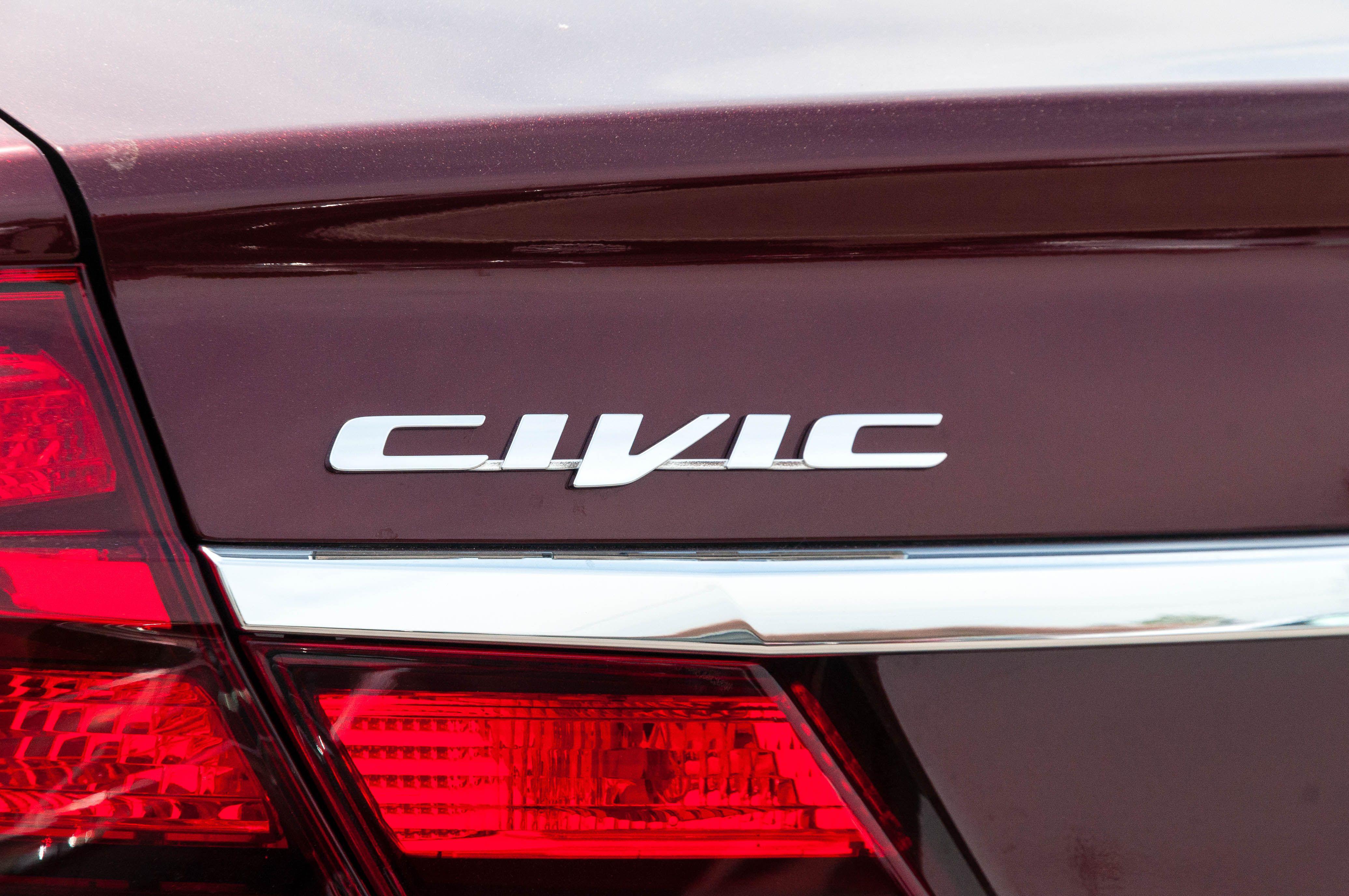 2015 Civic Badge Civic Honda Badge
