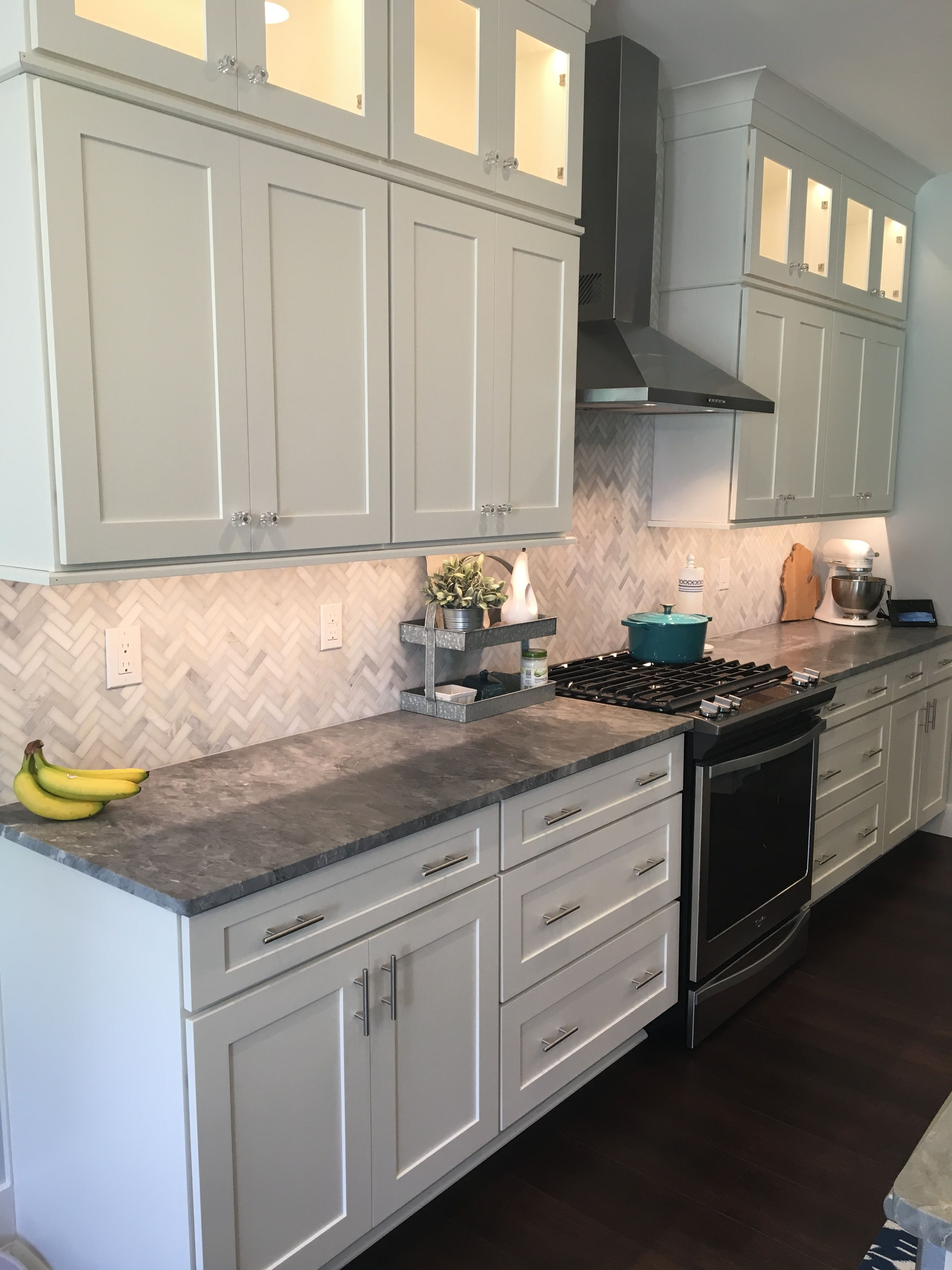 Granite Honed Marble Backsplash