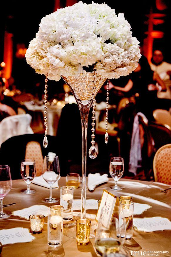 Picture Perfect Ballroom Wedding Centerpiece Ideas