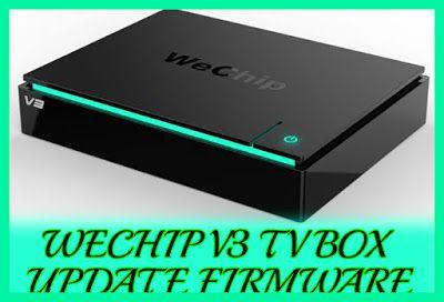 Wechip V3 TV Box firmware file free download USB updater  | Software