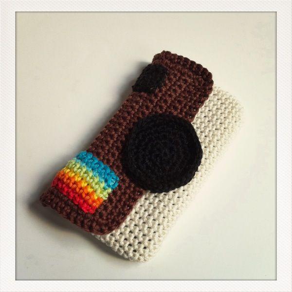 Fundas de crochet y tricot Fundas iphone, iPhone y Monederos
