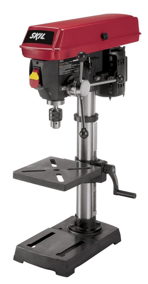 Remarkable Full Review Of The Skil 3320 Drill Press Drill Press Andrewgaddart Wooden Chair Designs For Living Room Andrewgaddartcom