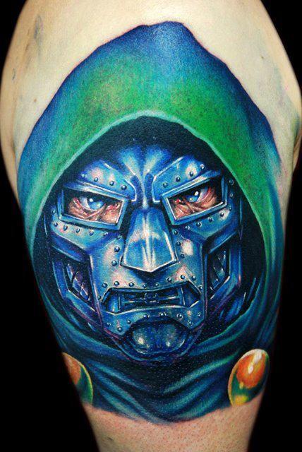 1788a3265 Doctor Doom Tattoo | Tattoos | Mask tattoo, Tattoos, Tattoos gallery