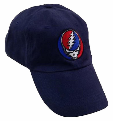 Grateful Dead Steal Your Face Navy Hat  edf854552bda