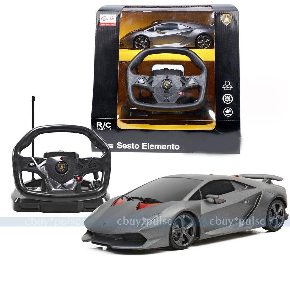 Rastar 1:18 Lamborghini Sesto Elemento RC