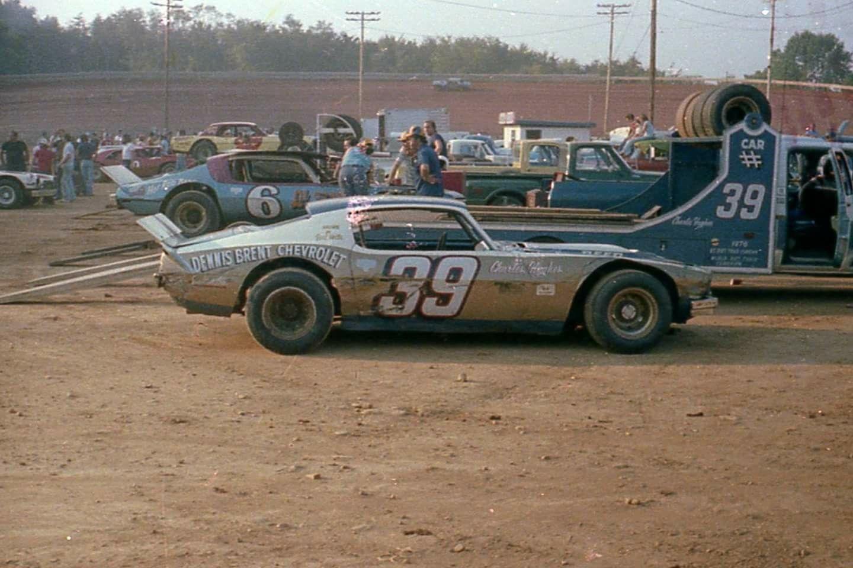 Dalton Charlie Hughes at the Newport Raceway