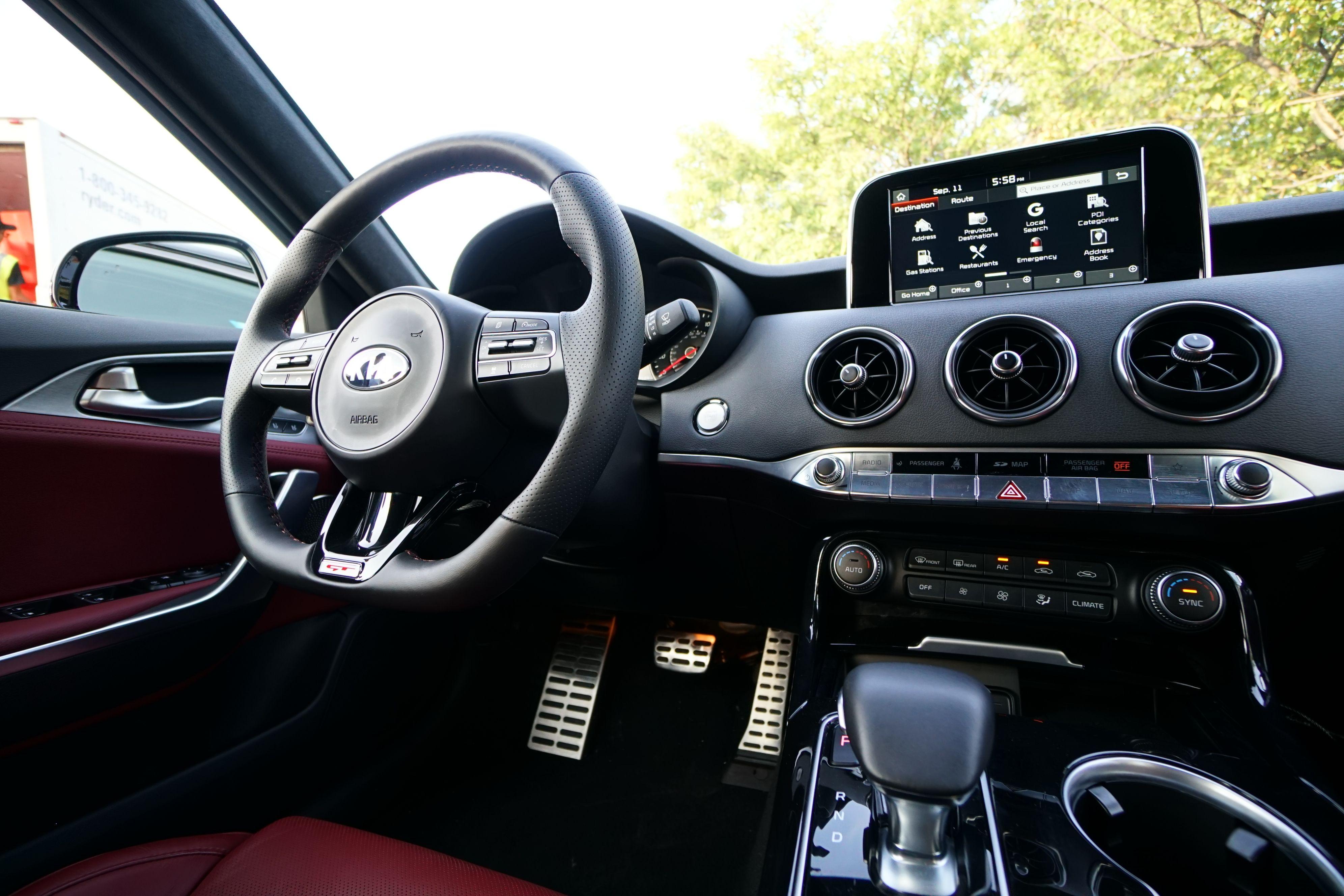 The Evolution Of Gran Turismo Beautifully Realized Kiastinger Sports Sedan Kia Kia Stinger