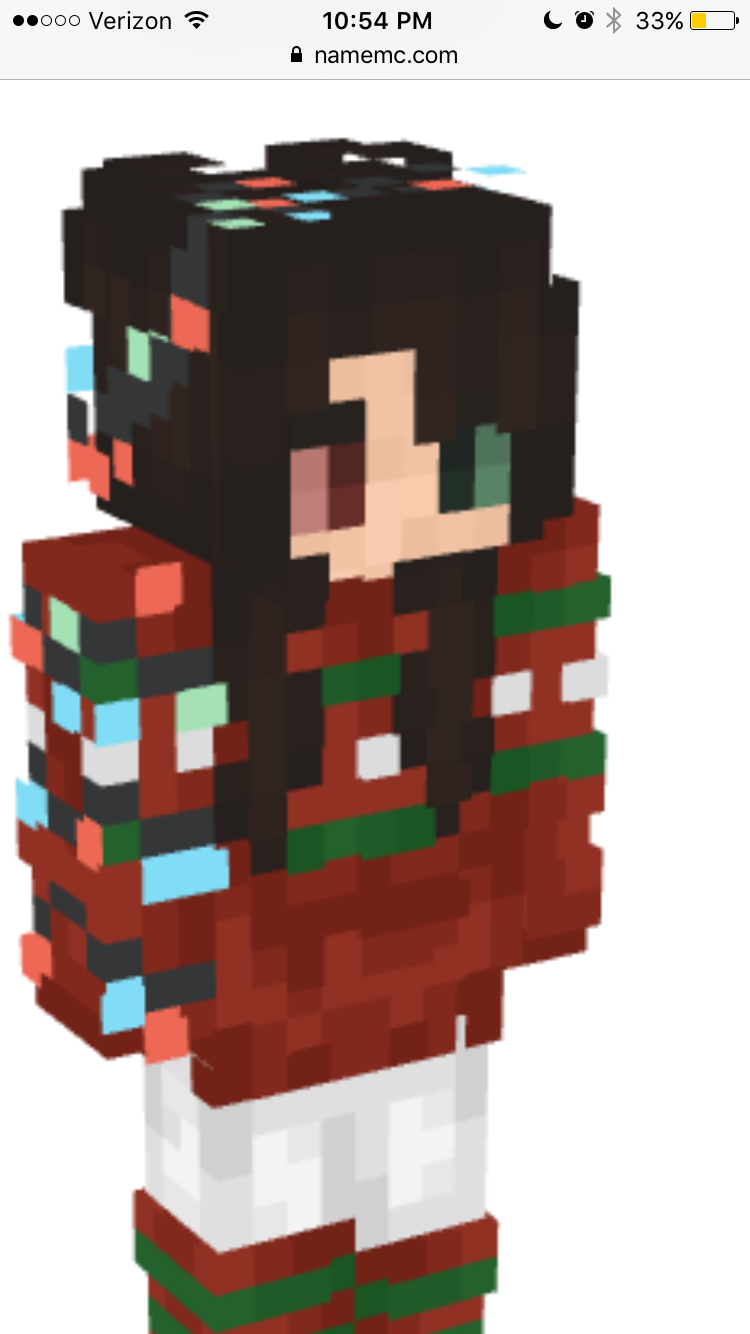 Indeed Christmas skin for Minecraft. My namemc is DeluxFTW  Idee