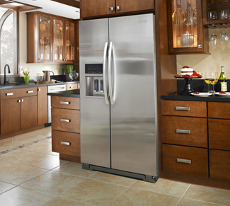 Counter Depth Refrigerator Vs Standard Depth Refrigerator Home Kitchens Kitchen Remodel Counter Depth Refrigerator
