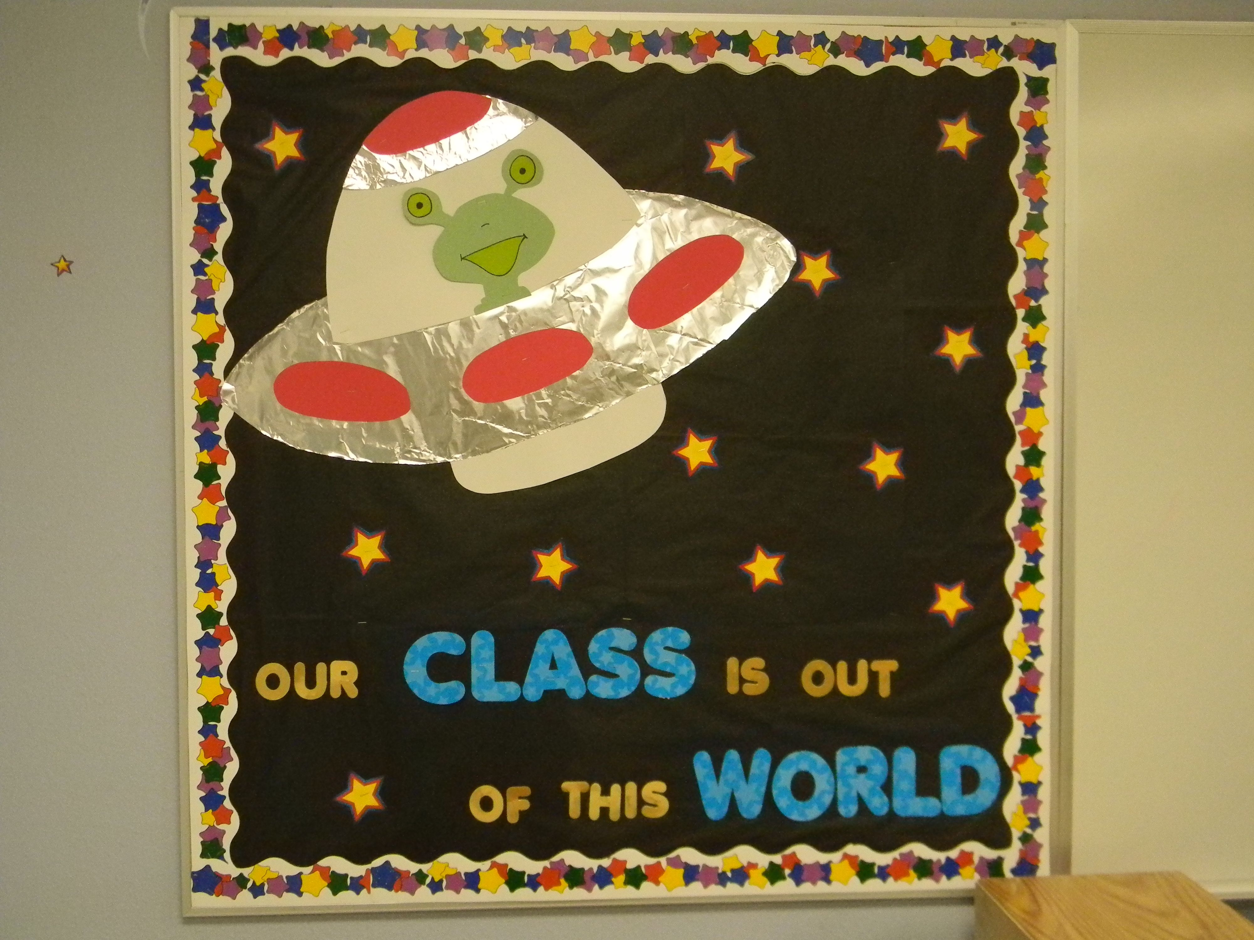Alien Bulletin Board With Images