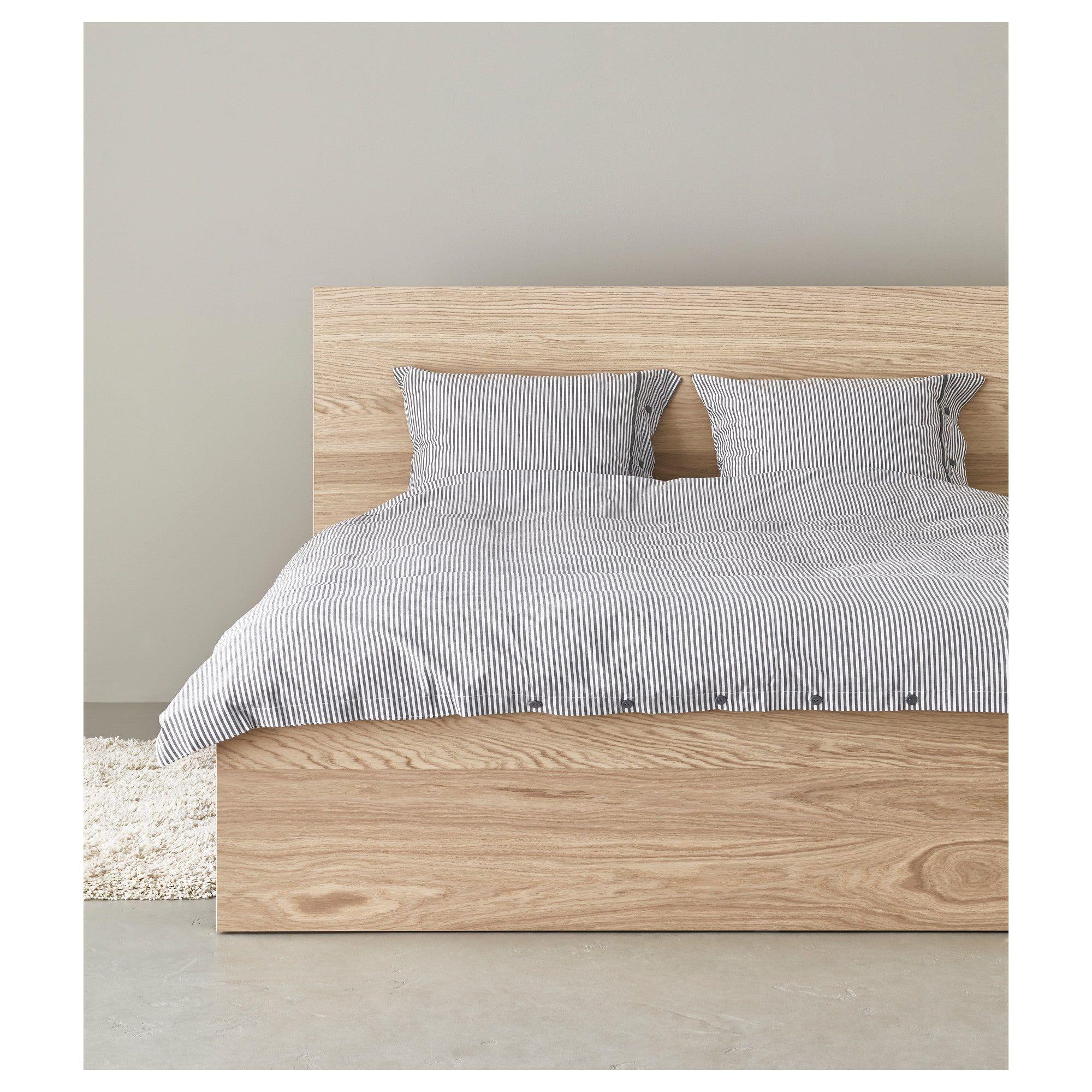 Schlafzimmer Ikea Malm Eiche