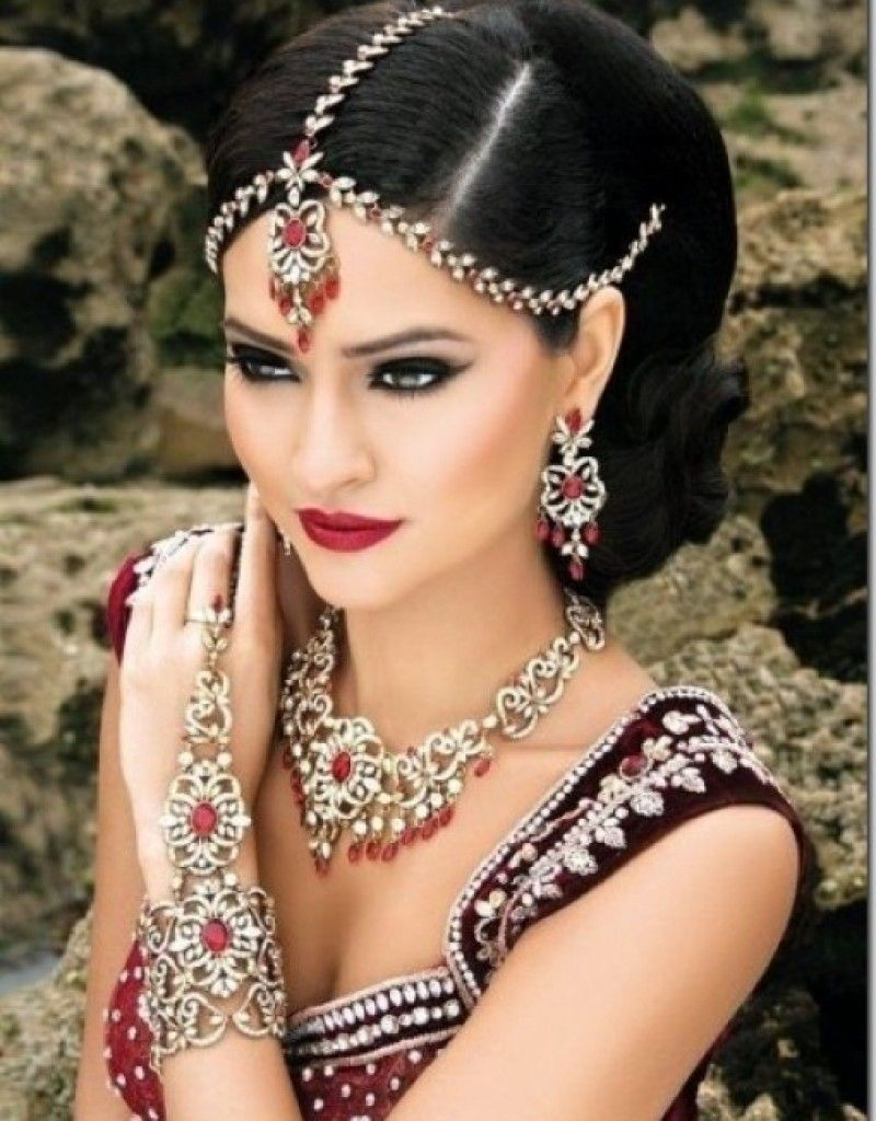 indian bridal hairstyle tutorial | love | pinterest | bridal
