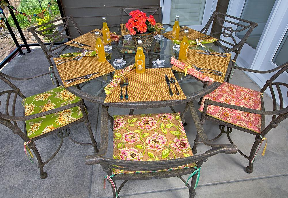 Chair Cushions Patio, How To Make Seat Cushions For Outdoor Furniture