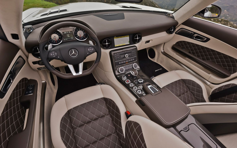 Mercedes Benz Sls Gt Roadster Designo Mystic White Interior 1 Jpg