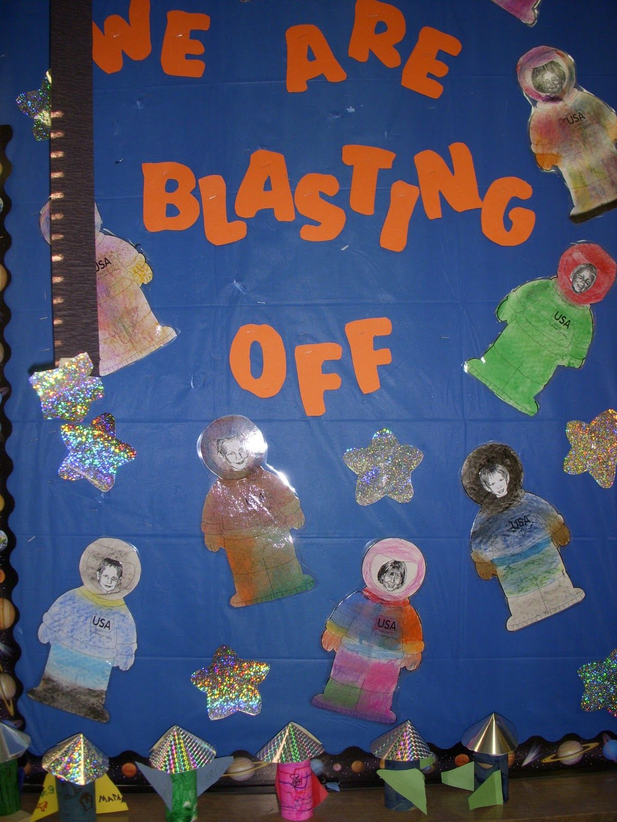 Outer Space Themed Classroom - Open House Ideas