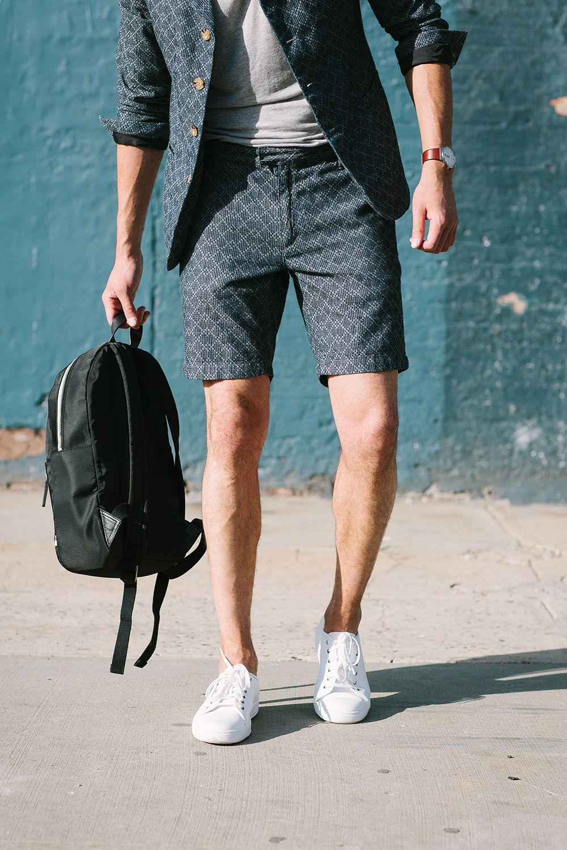 Schoolboy Blues Mens Summer Outfits Casual Shorts Men Short Men Fashion [ 1500 x 1000 Pixel ]