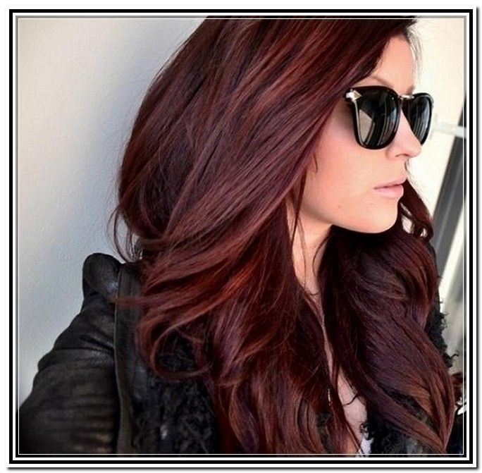 Dark Brown Hair Colors With Highlights Hair Style New Fashion