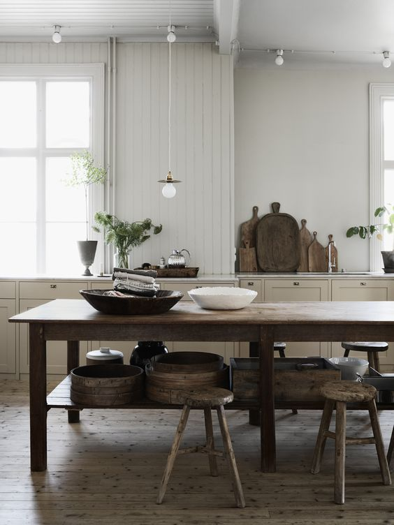 Decordots Industrial And Raw With Lots Of Repurposed Things: Mix Of Old And New In A Charming Scandinavian Home