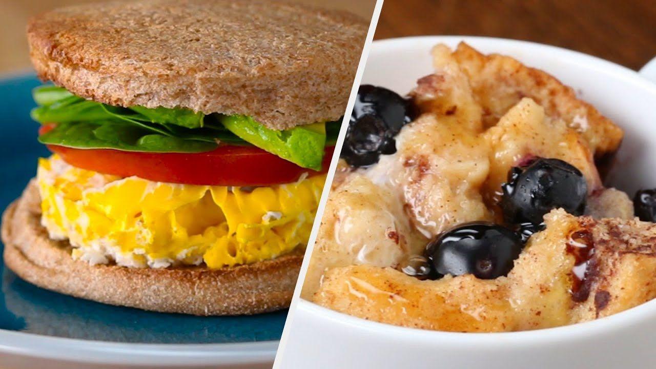 Microwave Breakfast Ideas For People Who Are Always Running Late Tasty Youtube Microwave Breakfast Tasty Yummy Breakfast