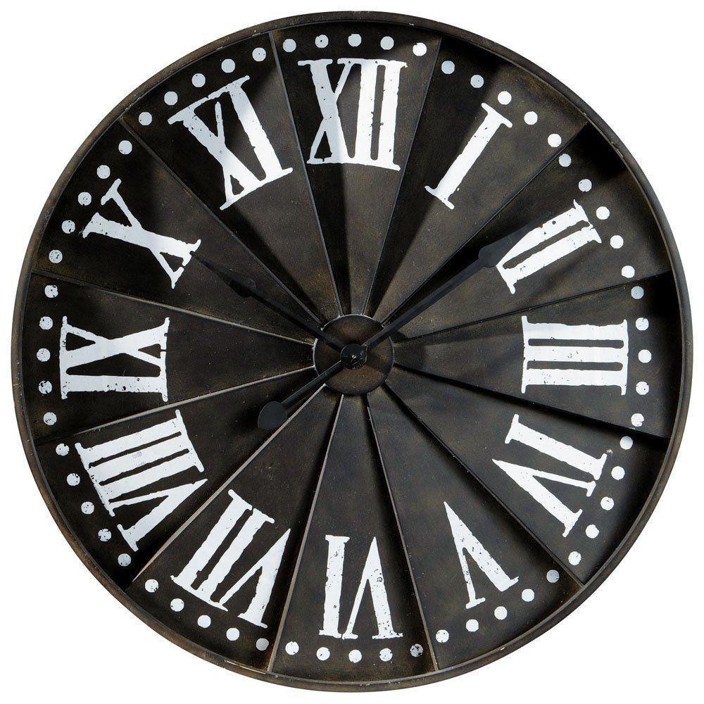 cool horloge tlgraphe sur maisons du monde dcorez votre intrieur de diffrents styles et avec un. Black Bedroom Furniture Sets. Home Design Ideas