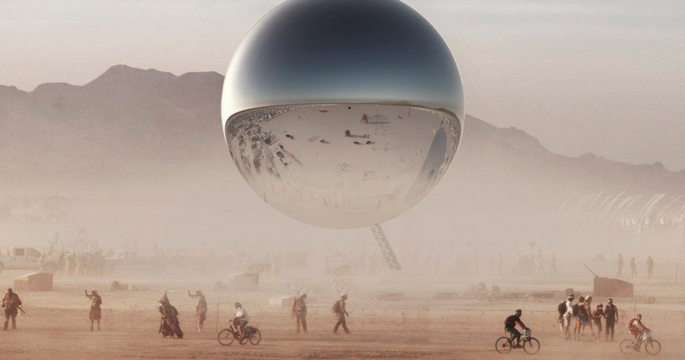 40b2f4c6002 danish architects bjarke ingels and jakob lange are planning a reflective  sphere