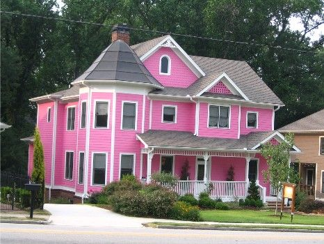 Dear Sweet Filthy World Addendum Pink Houses House Pinkhouses