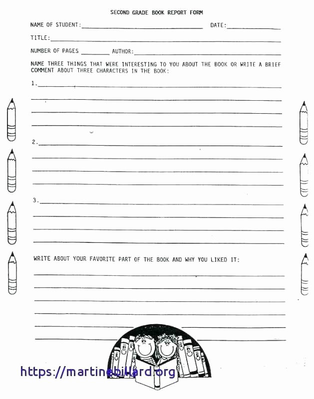 book report worksheet second grade Awesome Non Fiction ...