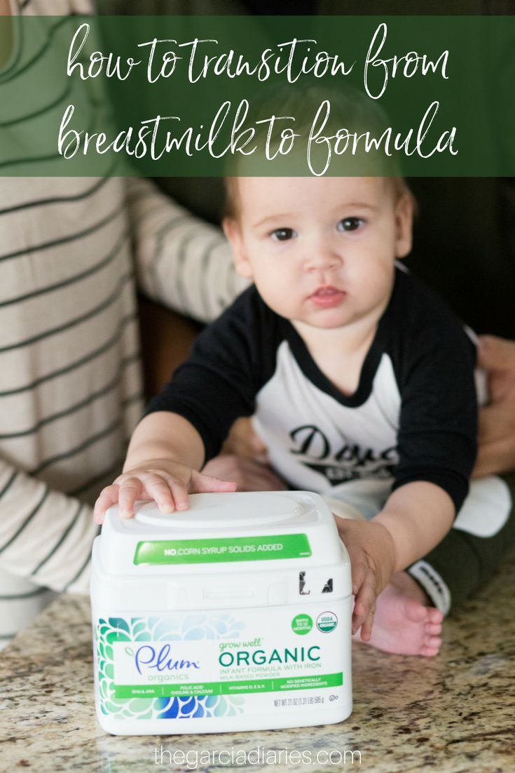 How To Introduce Formula To A Breastfed Baby Baby