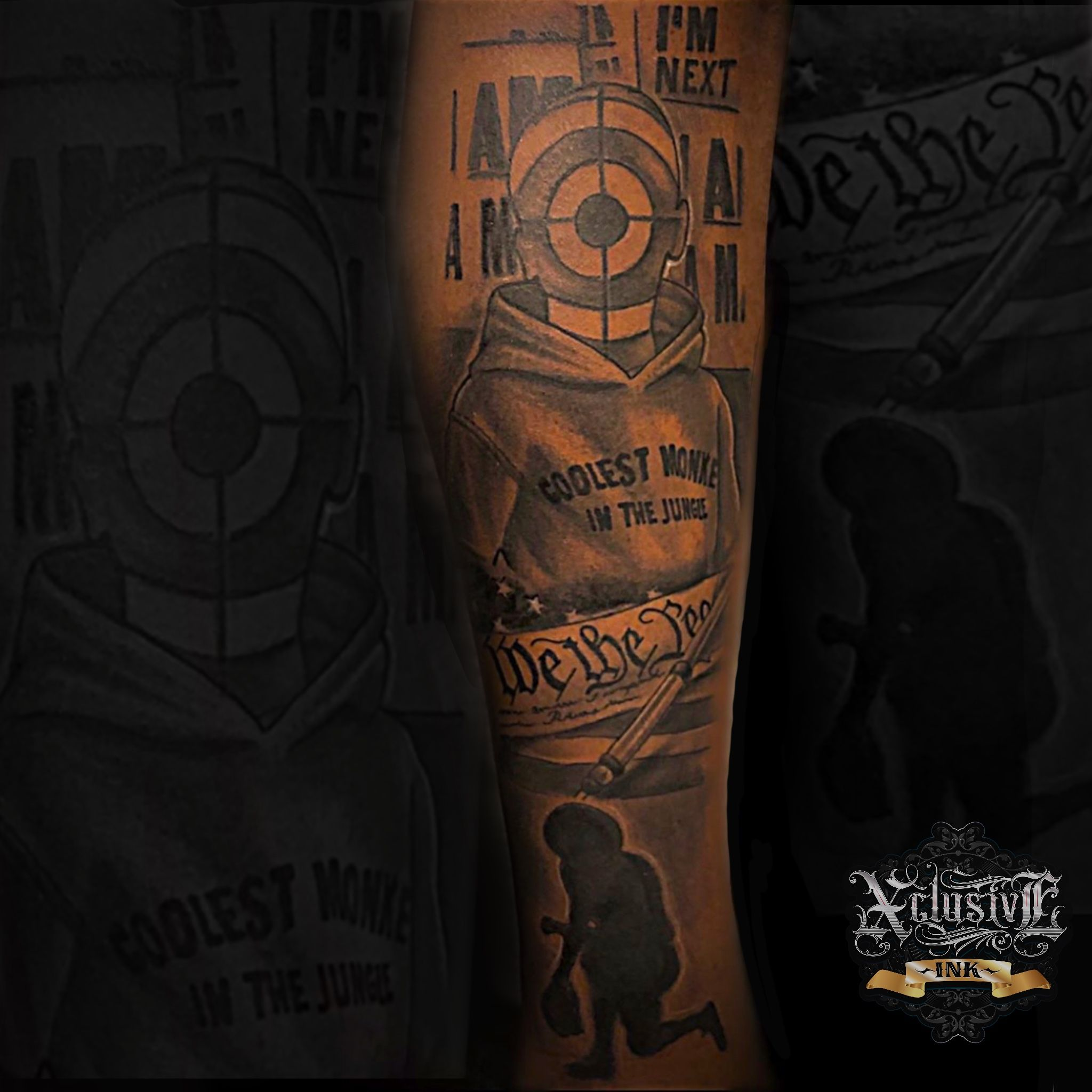 Injustice Tattoo Forearm Tattoo Men Tattoos For Guys Tattoos