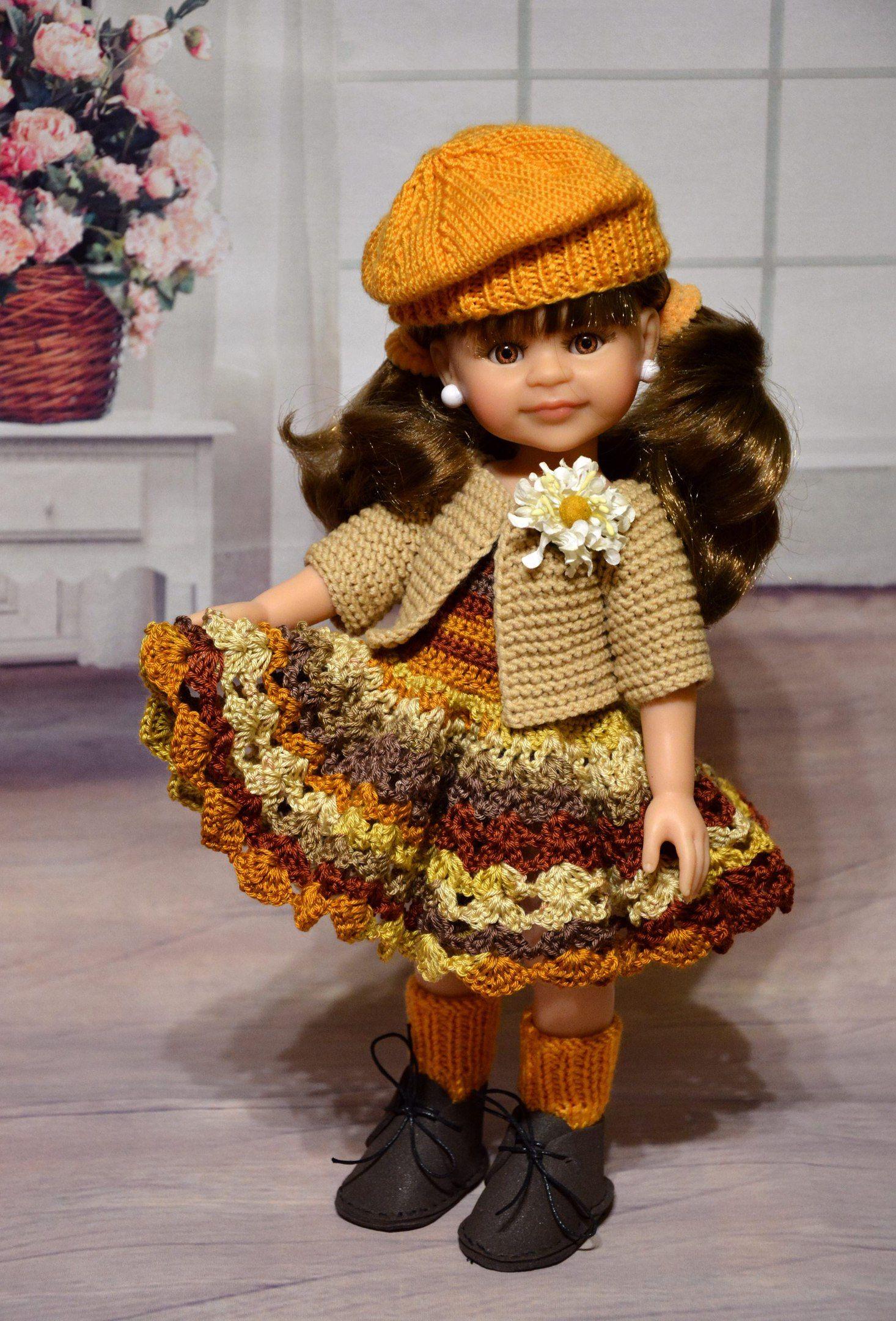 Испанские куклы Paola Reina   Одежда для куколок, Куклы, Вещи для кукол