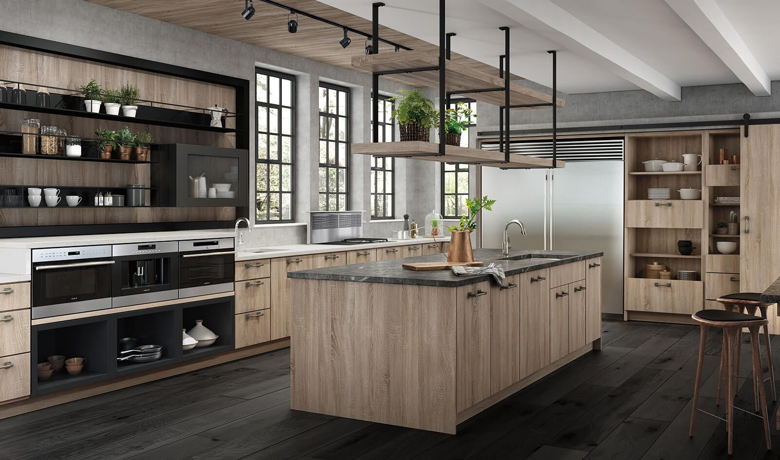 image result for cabinet above sub zero 8 ceiling kitchen design kitchen space steam oven on kitchen remodel sub zero id=73960