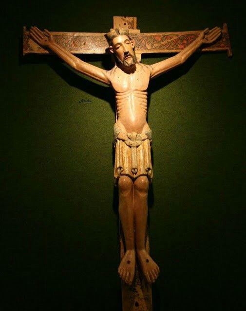 Cristo de Vallejo, s. XII. Museo de la Catedral de León.