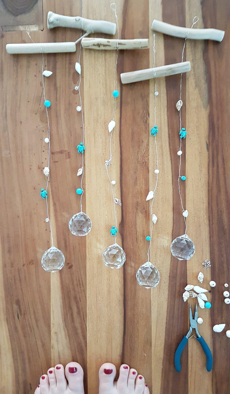 Photo of Solfanger Solfanger Hippie Style Ibiza crystal light energy wellness regnbue vindushengers dekorasjon Maritim sommerdekorasjon