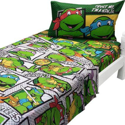 Teenage Mutant Ninja Turtles Twin Sheets Trust Ninja Bedding Kids Comforter Sets Boys Bedding Kids Duvet Cover