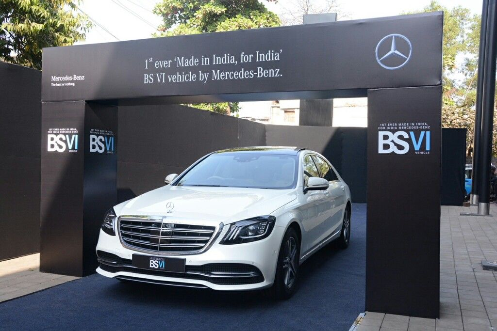 2018 Mercedes Benz S Class Unveiled First India Made Bs6 Car Mercedes Benz Mercedes Benz