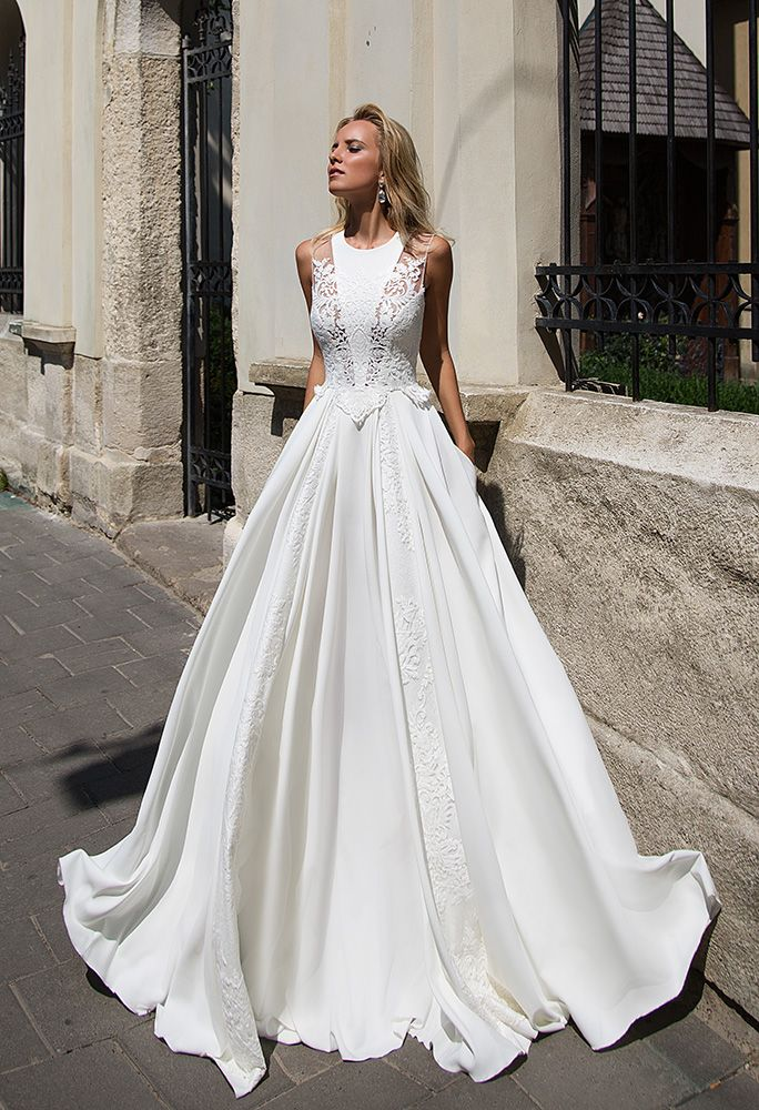 Oksana Mukha dress at milena\'s bridal Houston you may order online 2 ...